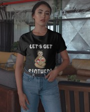 Sloth Drunken Let's Get Slothed Shirt Classic T-Shirt apparel-classic-tshirt-lifestyle-05
