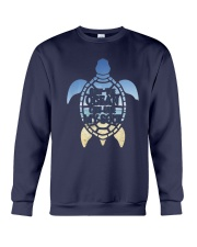 Turtle Only The Ocean Can Ease My Soul Shirt Crewneck Sweatshirt thumbnail