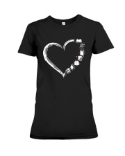 I Love Books And Librarian Life Shirt Premium Fit Ladies Tee thumbnail