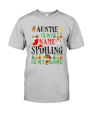Christmas Auntie My Name Spoiling Is Game Shirt Classic T-Shirt tile