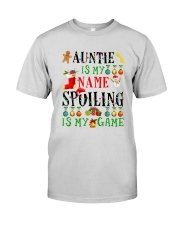 Christmas Auntie My Name Spoiling Is Game Shirt Premium Fit Mens Tee thumbnail