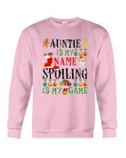 Christmas Auntie My Name Spoiling Is Game Shirt Crewneck Sweatshirt thumbnail