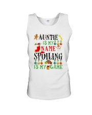 Christmas Auntie My Name Spoiling Is Game Shirt Unisex Tank thumbnail