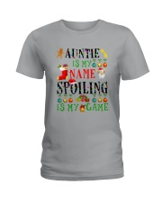 Christmas Auntie My Name Spoiling Is Game Shirt Ladies T-Shirt thumbnail