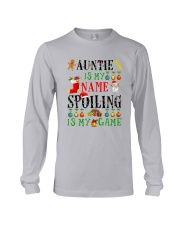 Christmas Auntie My Name Spoiling Is Game Shirt Long Sleeve Tee thumbnail