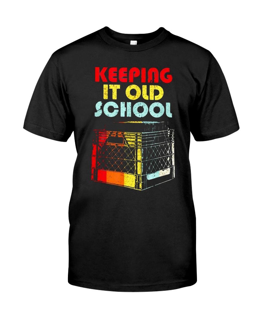 Dj Keeping It Old School Shirt Classic T-Shirt