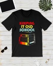 Dj Keeping It Old School Shirt Classic T-Shirt lifestyle-mens-crewneck-front-17
