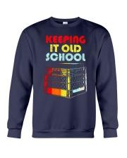 Dj Keeping It Old School Shirt Crewneck Sweatshirt thumbnail