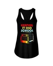 Dj Keeping It Old School Shirt Ladies Flowy Tank thumbnail