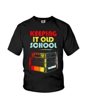 Dj Keeping It Old School Shirt Youth T-Shirt thumbnail