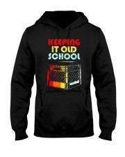 Dj Keeping It Old School Shirt Hooded Sweatshirt thumbnail