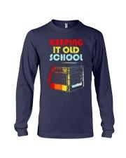 Dj Keeping It Old School Shirt Long Sleeve Tee thumbnail