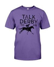 Horse Racing Talk Derby To Me Shirt Premium Fit Mens Tee thumbnail