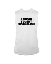 I Speak Fluent Spanglish Shirt Sleeveless Tee thumbnail
