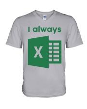 Jacqui Collins I Always Excel Shirt V-Neck T-Shirt thumbnail