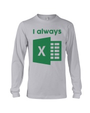 Jacqui Collins I Always Excel Shirt Long Sleeve Tee thumbnail