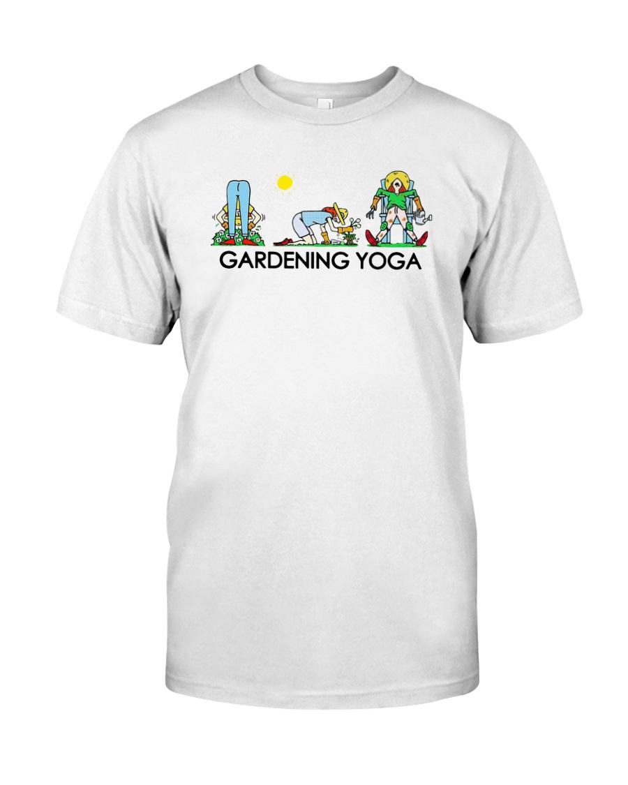 Gardening Yoga Shirt Classic T-Shirt