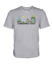 Gardening Yoga Shirt V-Neck T-Shirt thumbnail