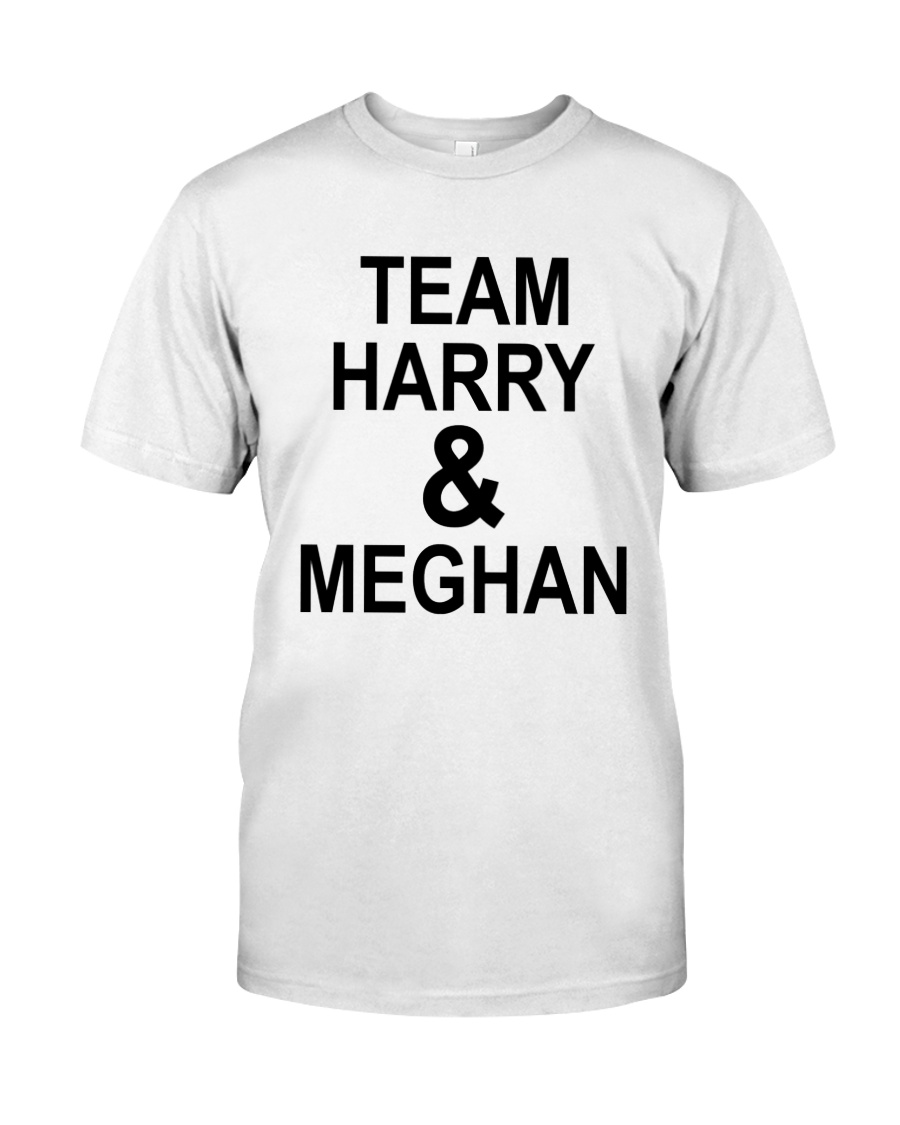 Kitson Team Harry And Meghan Shirt Classic T-Shirt