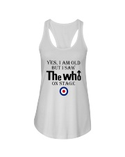 Yes I Am Old But I Saw The Who On Stage Shirt Ladies Flowy Tank thumbnail
