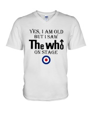Yes I Am Old But I Saw The Who On Stage Shirt V-Neck T-Shirt thumbnail