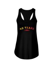 Anniversary 40 Years TRD Shirt Ladies Flowy Tank thumbnail