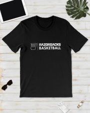 Black History Month Razorbacks Basketball Shirt Classic T-Shirt lifestyle-mens-crewneck-front-17