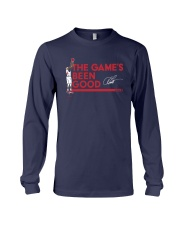Vince Carter The Games Been Good Shirt Long Sleeve Tee thumbnail
