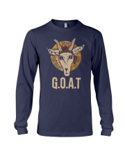Goat The Name The Champ The First Shirt Long Sleeve Tee thumbnail