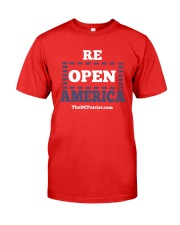 Re Open America Shirt Premium Fit Mens Tee thumbnail