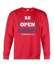 Re Open America Shirt Crewneck Sweatshirt thumbnail