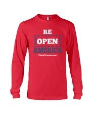 Re Open America Shirt Long Sleeve Tee thumbnail