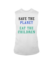 Official Save The Planet Eat The Children Shirt Sleeveless Tee thumbnail