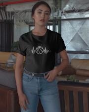 Basketball Heartbeat Shirt Classic T-Shirt apparel-classic-tshirt-lifestyle-05