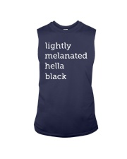 Lightly Melanated Hella Black Shirt Sleeveless Tee thumbnail