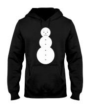 Snowman Shirt Jeezy Hooded Sweatshirt thumbnail