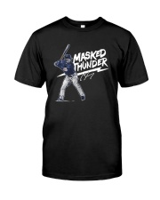 Clint Frazier Masked Thunder Shirt Premium Fit Mens Tee tile