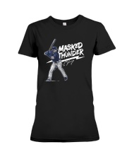 Clint Frazier Masked Thunder Shirt Premium Fit Ladies Tee thumbnail
