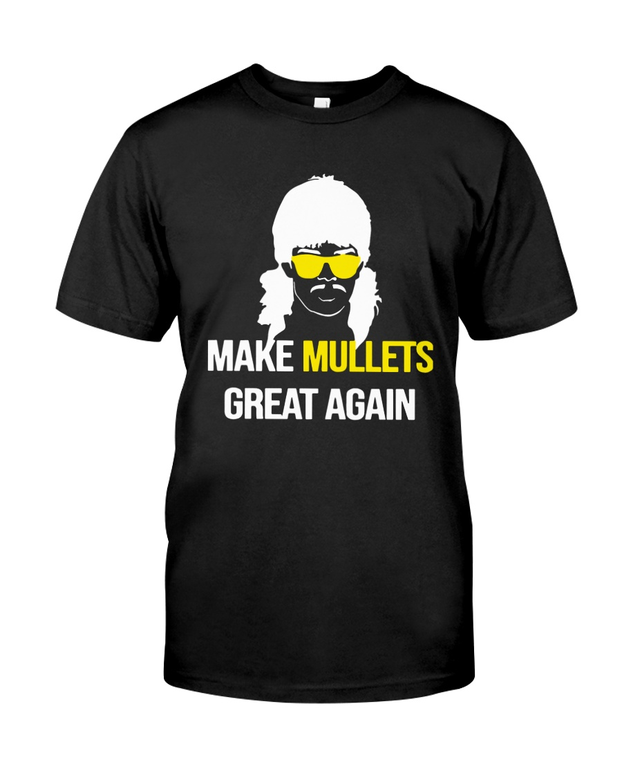 Make Mullets Great Again Shirt Classic T-Shirt