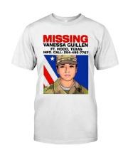 Missing Vanessa Guillen Ft Hood Texas Shirt Classic T-Shirt front