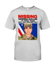 Missing Vanessa Guillen Ft Hood Texas Shirt Premium Fit Mens Tee thumbnail