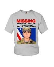 Missing Vanessa Guillen Ft Hood Texas Shirt Youth T-Shirt thumbnail