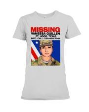 Missing Vanessa Guillen Ft Hood Texas Shirt Premium Fit Ladies Tee thumbnail