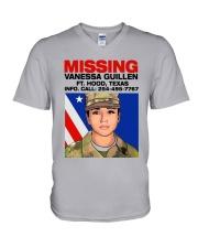 Missing Vanessa Guillen Ft Hood Texas Shirt V-Neck T-Shirt thumbnail