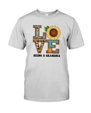 Sunflower Love Being A Grandma Shirt Premium Fit Mens Tee thumbnail