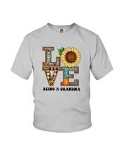 Sunflower Love Being A Grandma Shirt Youth T-Shirt thumbnail