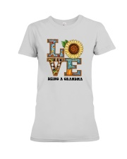 Sunflower Love Being A Grandma Shirt Premium Fit Ladies Tee thumbnail