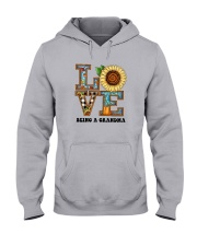 Sunflower Love Being A Grandma Shirt Hooded Sweatshirt thumbnail