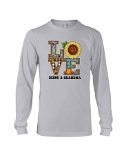 Sunflower Love Being A Grandma Shirt Long Sleeve Tee thumbnail