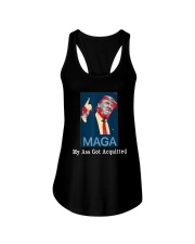 Trump Maga My Ass Got Acquitted Shirt Ladies Flowy Tank tile